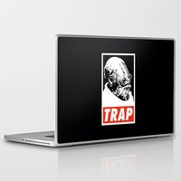 stickers Laptop & iPad Skins featuring Obey Ackbar's TRAP by Don Calamari