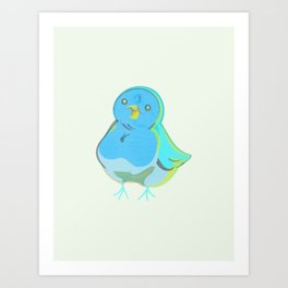 A Little Birdie Told Me Art Print