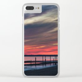 Magic West Coast of Denmark Clear iPhone Case