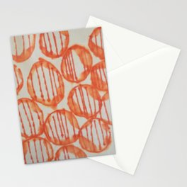 O-range Lanterns Stationery Cards