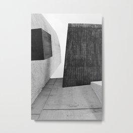 Ronchamp | Notre Dame du Haut chapel | Le Corbusier architect Metal Print