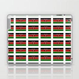 Flag of Kenya -kenyan,kenia,rift valley,serengeti,kilimanjaro,nairobi,mombasa Laptop & iPad Skin