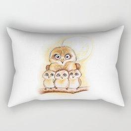 Owl Babies Rectangular Pillow