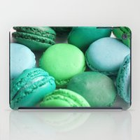 macaroons iPad Cases featuring Macaroons by Sara Chergui