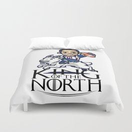 Tom Brady - king of the north Duvet Cover