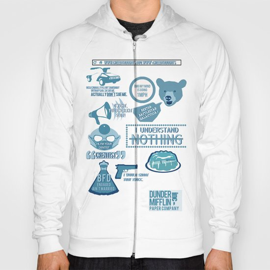 The Office - quotes and quips and stuffs Hoody