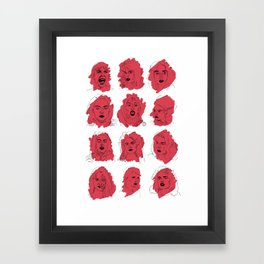 SCREAM QUEENS Framed Art Print