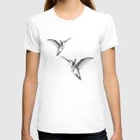 flight T-shirts featuring Flight by Libby Watkins Illustration