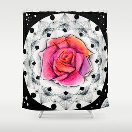 Center of Universe Shower Curtain