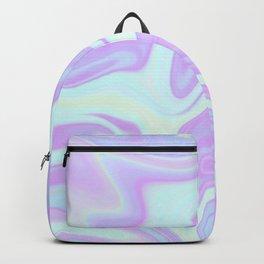Unicorn Goo Liquid Holographic Texture Backpack