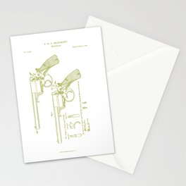 """F.B.E Beaumont """"Adams"""" Revolver Patent Stationery Cards"""