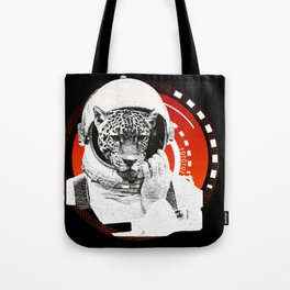 No One Can Hear You Meow in Space Tote Bag