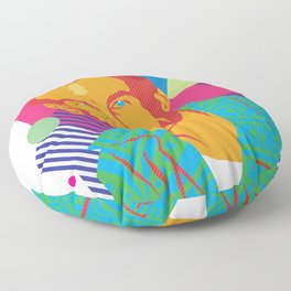LARRY :: Memphis Design :: Miami Vice Series Floor Pillow