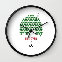 Life Over Wall Clock