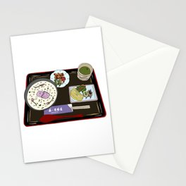 Nara Japanese Lunch Platter Stationery Cards