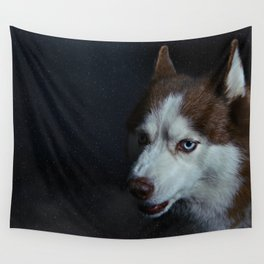 Snow in Siberia Wall Tapestry