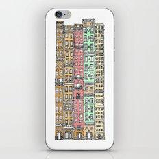 Olden Days Skyscrapers iPhone & iPod Skin