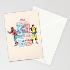 Espectacular Encuentro Stationery Cards