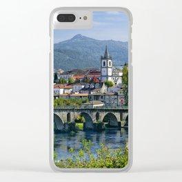Ponte da Barca, Minho Clear iPhone Case