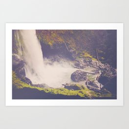 Sugar Falls Art Print