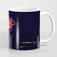 fireworks Mugs featuring Fireworks! by Love2Snap