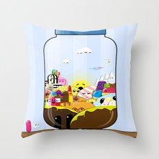 SF Sweet Jar Throw Pillow