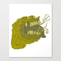 Slimey Canvas Print