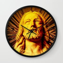Because He Lives I Can Face Tomorrow Wall Clock