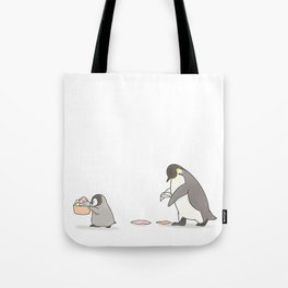 Chores (white background) Tote Bag
