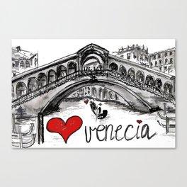 I love Venecia Canvas Print