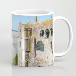 Mont Saint-Michel and the bay at low tide Coffee Mug