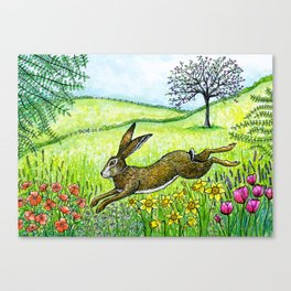 Leap into Spring Canvas Print