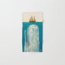The Whale - colour option Hand & Bath Towel