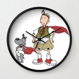 Doug Quail Man Wall Clock