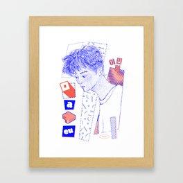NCT DREAM MARK Framed Art Print