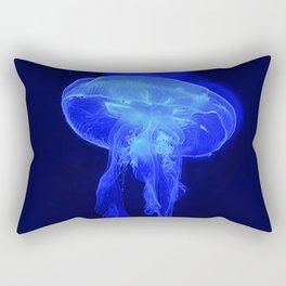 Blue Jelly Rectangular Pillow