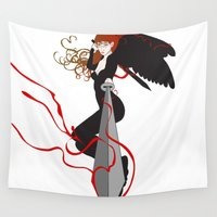 avenger Wall Tapestries featuring Justice by Stevyn Llewellyn