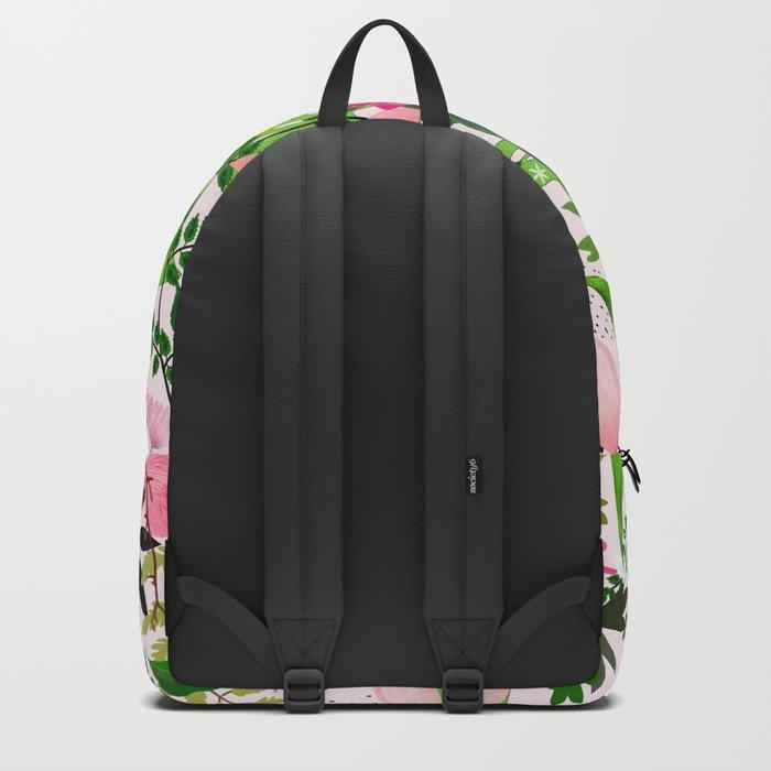pink desert flowers Backpack