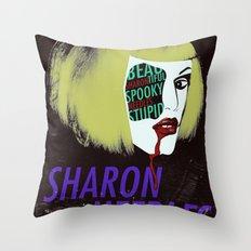 Sharon Needles Poster Throw Pillow
