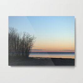 Great Lake Sunset Metal Print