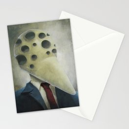 Has Many Eyes But Knows No Truth Stationery Cards