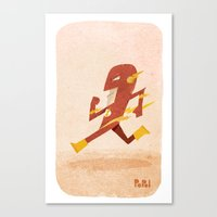 flash Canvas Prints featuring Flash by Popol