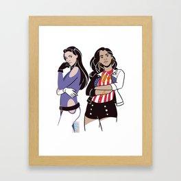 amerikate Framed Art Print