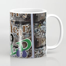 A Happy New Year! Pop Coffee Mug