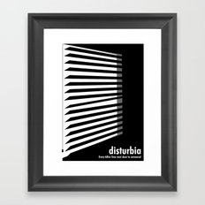 Disturbia Framed Art Print