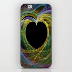 Waves Of Love iPhone & iPod Skin