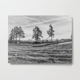 Dolomites in the background Metal Print