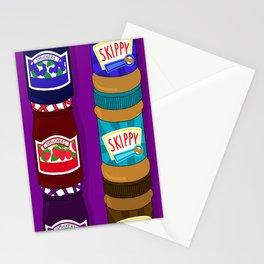 Sugar Crash No. 6: PB+J Stationery Cards