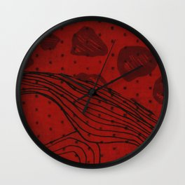 Coronary Contemporary 1 Wall Clock
