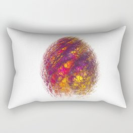 Dragon Egg Fractal Art Rectangular Pillow